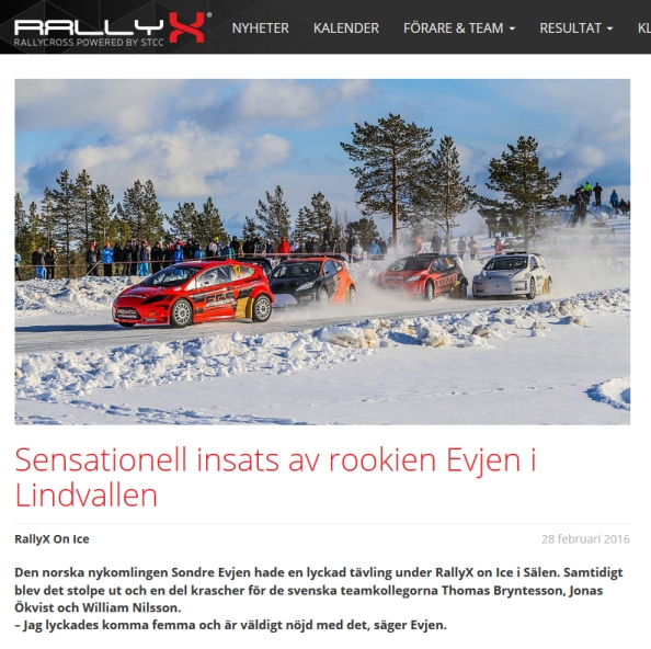 rallyx uppdatering